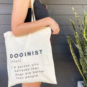 Canvas Tote- DOGINIST
