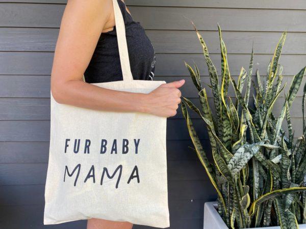 Canvas Tote- FUR BABY MAMA